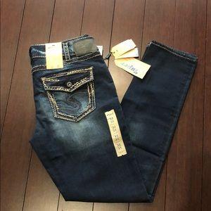 Silver Jeans Suki skinny size 32